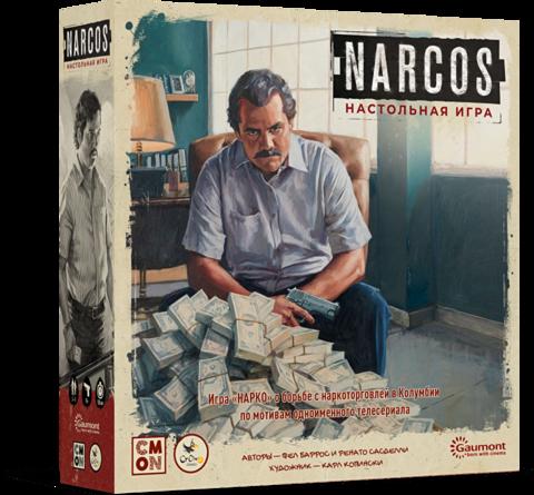 Доставка игры Narcos
