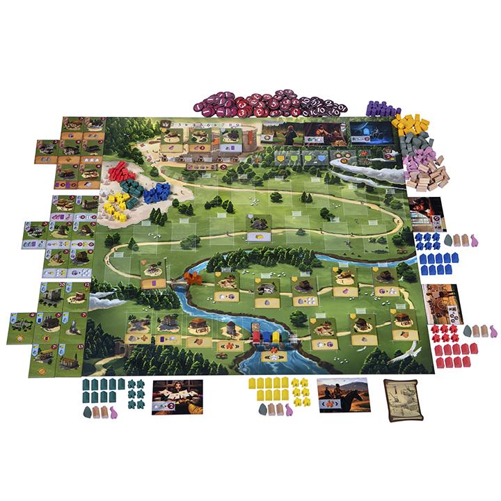 Настольная игра «Келюс 1303» (Caylus 1303) - Подготовка к игре