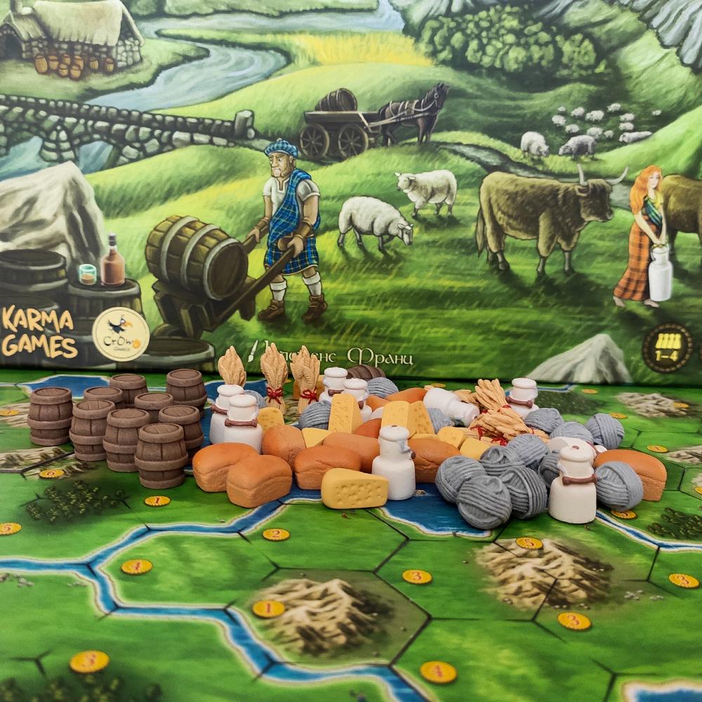 Реалистичные ресурсы для игры «Кланы Каледонии». Фото компонентов 3