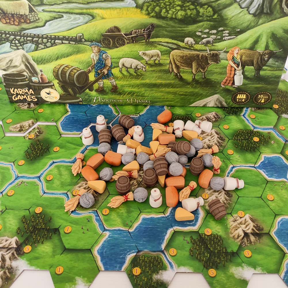Реалистичные ресурсы для игры «Кланы Каледонии». Фото компонентов 4