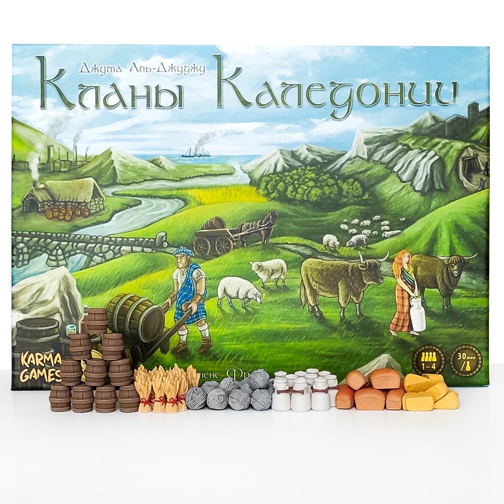 Реалистичные ресурсы для игры «Кланы Каледонии». Фото компонентов 1