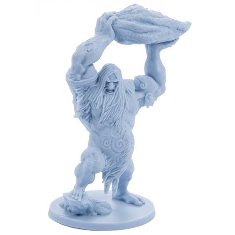 Ледяной великан. Миниатюра из игры «Кровь и ярость»
