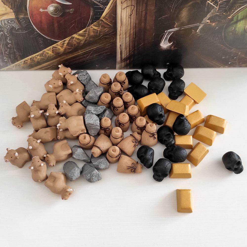 Фото реалистичных ресурсов для игры «Викинги». Фото компонентов 4