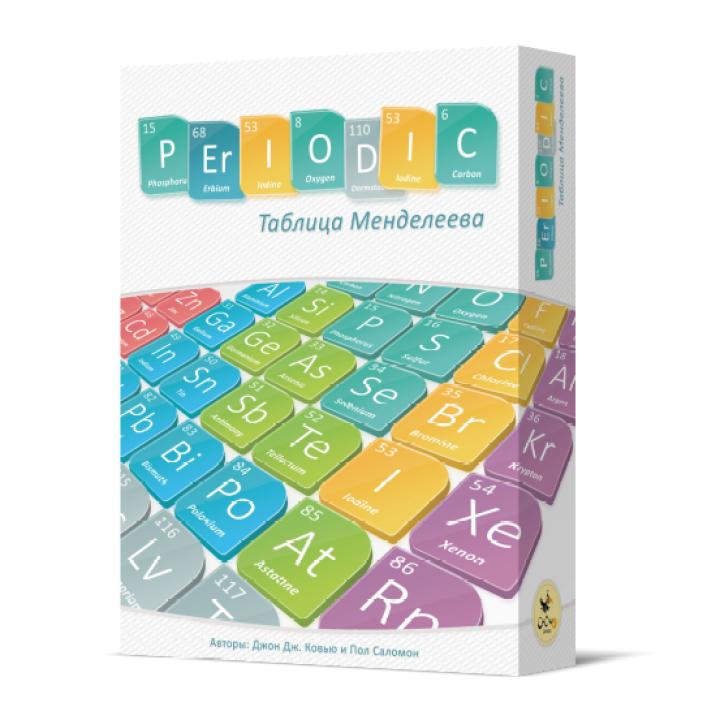 Таблица Менделеева (Periodic: A Game of The Elements). Фото настольной игры