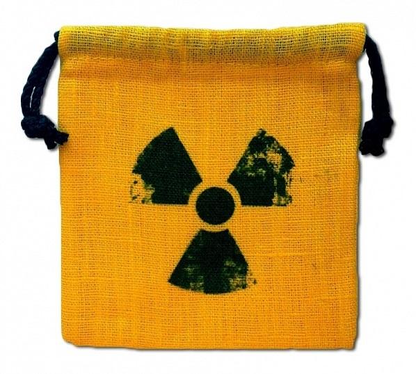 Мешочек для кубиков «Радиация»
