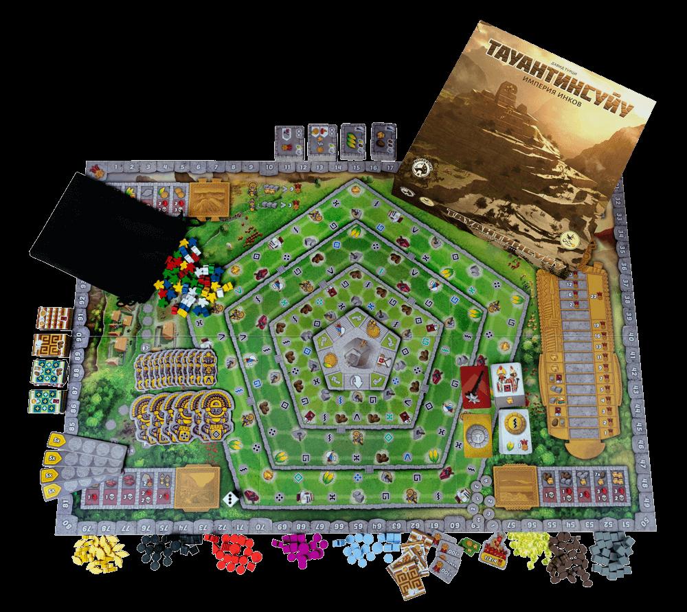 Тауантинсуйу. Империя инков. Фото компонентов 1