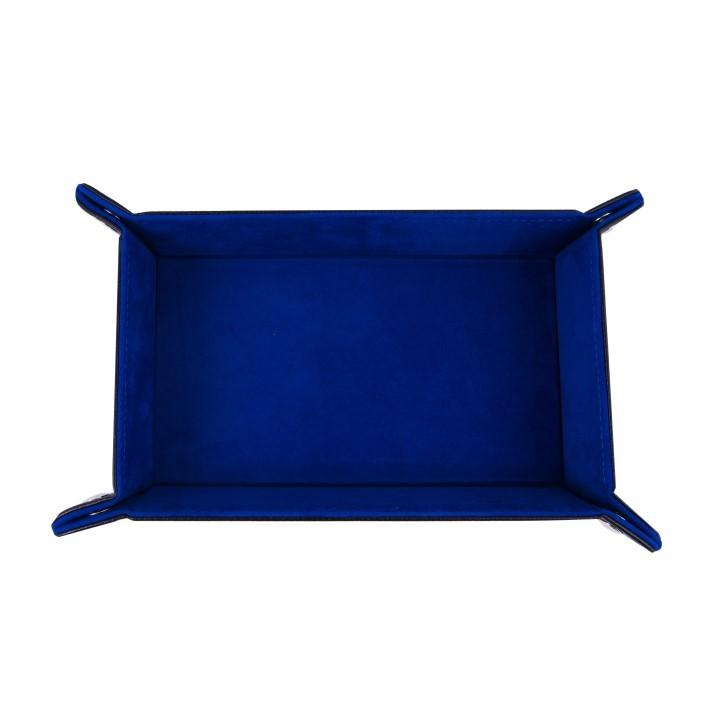 Дайс-трей прямоугольный «Синий бархат». Фото