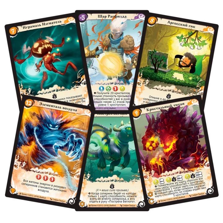 Сезоны (Seasons). Настольная игра CrowdGames. Фото промо карт