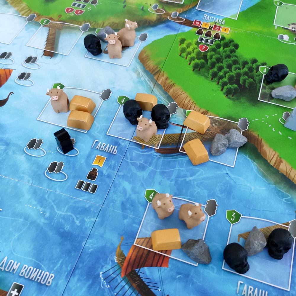 Фото реалистичных ресурсов для игры «Викинги». Фото компонентов 3
