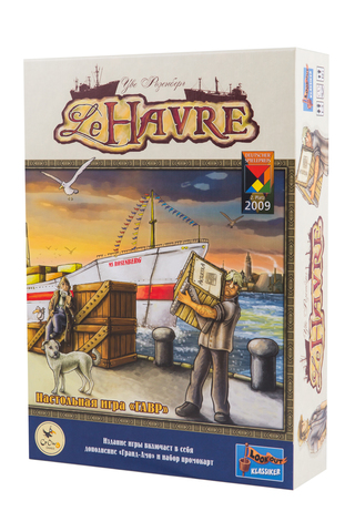 Гавр (Le Havre). Настольная игра Crowd Games. Фото игры