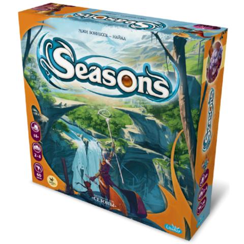 Сезоны (Seasons). Настольная игра CrowdGames. Фото игры
