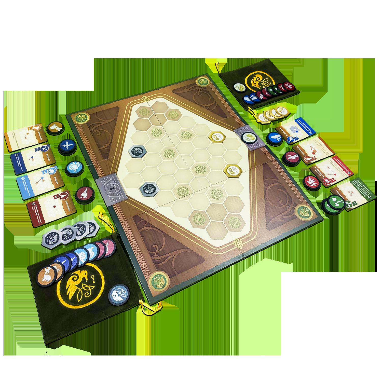 Сундук войны (War chest).  Подготовка к игре