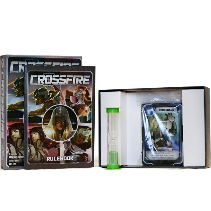 Перекрёстный огонь (Crossfire). Настольная игра Crowd Games. Фото компонентов