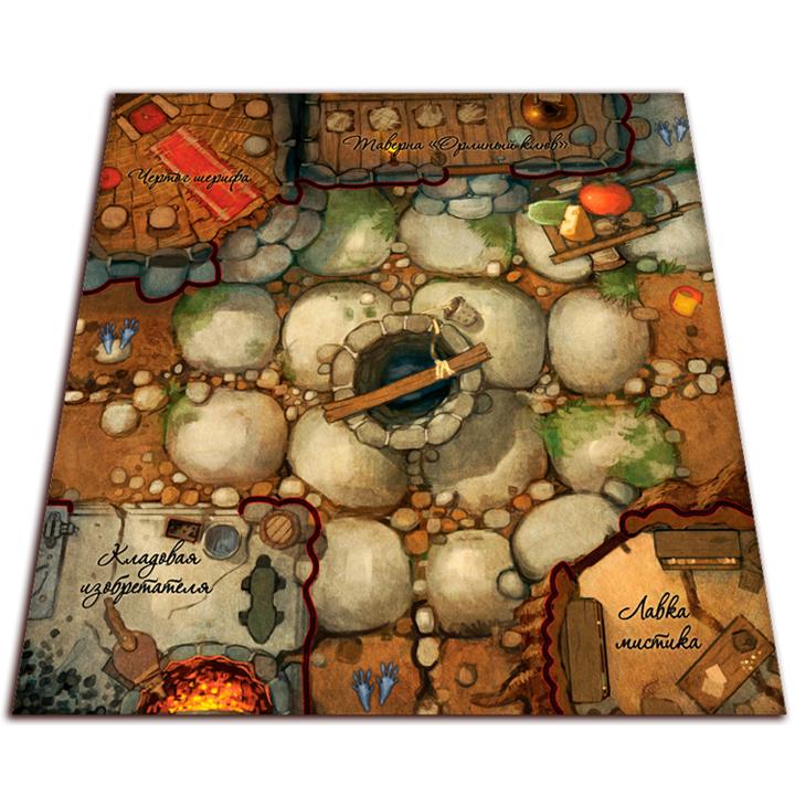 О мышах и тайнах. Сказки Нижнелесья (Mice and Mystics: Downwood Tales).Настольная игра Crowd Games. Фото компонентов