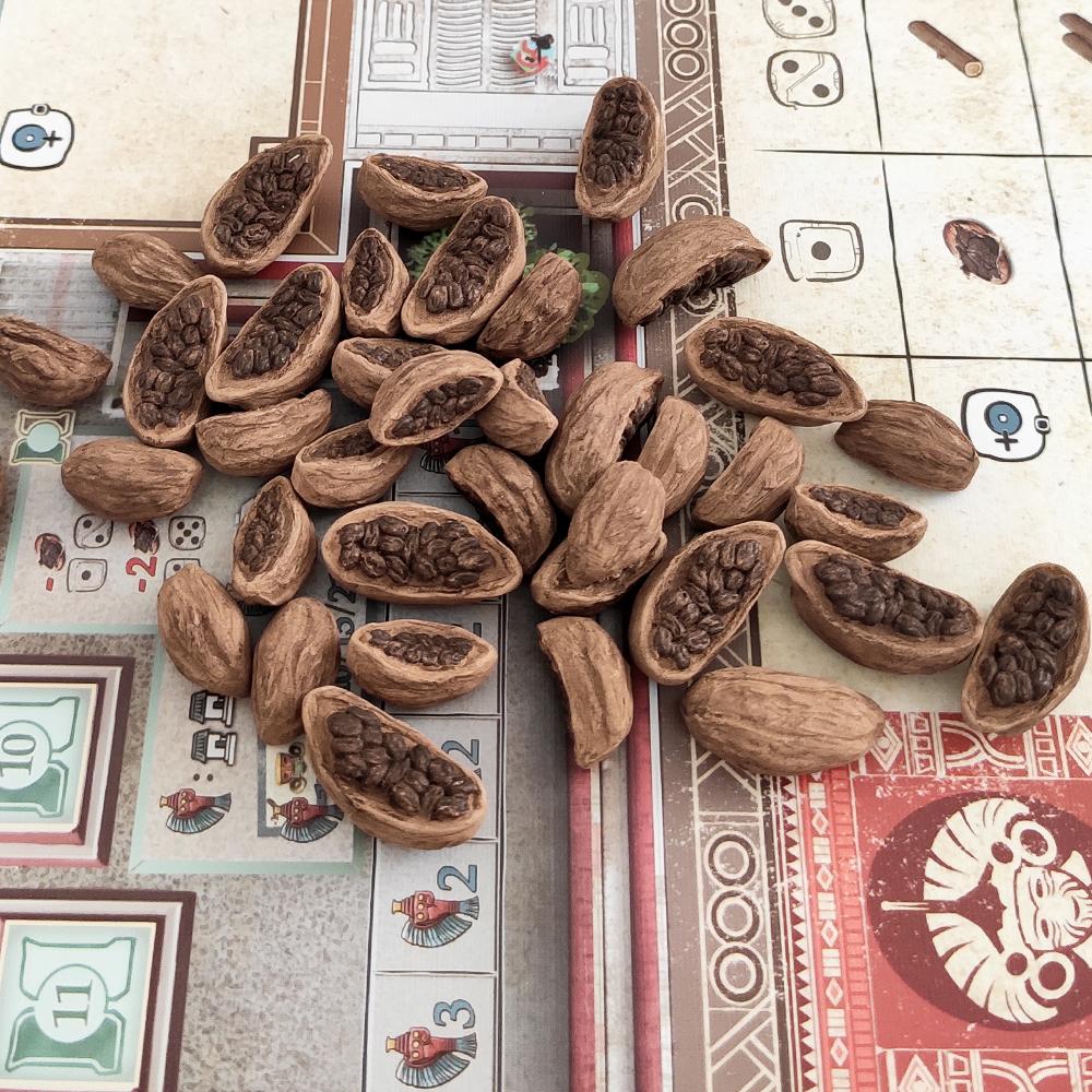 Реалистичные ресурсы для игры «Теотиуакан. Город богов». Фото компонентов 5