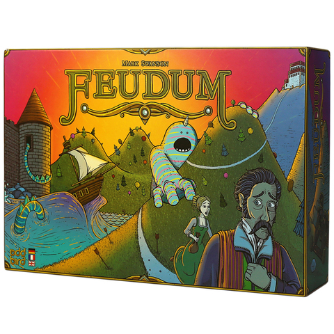 Феод (Feudum). Настольная игра Crowd Games. Фото игры