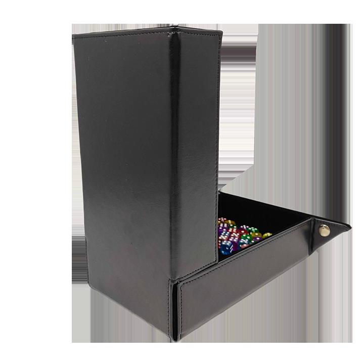 Башня для кубиков на магнитах «Чёрный бархат»