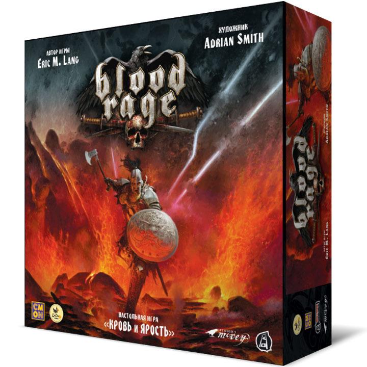 Кровь и ярость (Blood Rage). Настольная игра Crowd Games. Фото игры